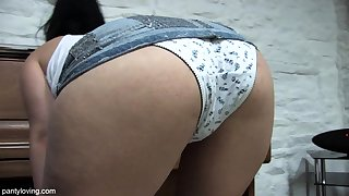 Mature upskirt panties Tight Panties Volume 1